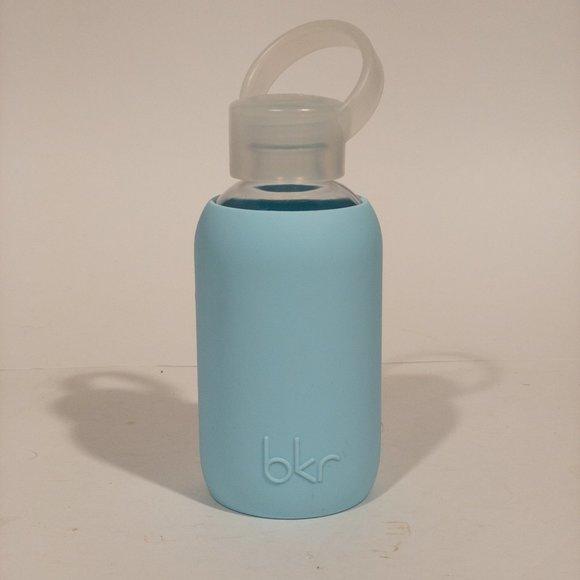 32oz NEW bkr Glass Water Bottle w BPA Free Silicone Sleeve BIG GRAMERCY 1L